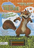 Over the Hedge Stencil Activity Book: With Stickers