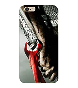 ColourCraft Knife Design Back Case Cover for APPLE IPHONE 6S PLUS