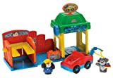 FISHER PRICE LITTLE PEOPLE SPIN N' SPARKLE CAR WASH NEW