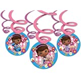 Amscan Doc McStuffins Swirl Decorations Party Accessory