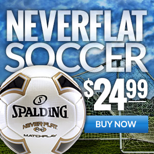 Spalding Neverflat Soccer Ball