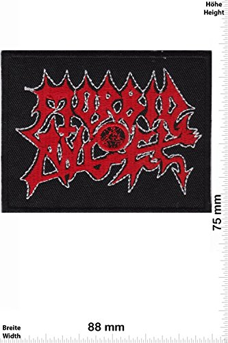 Patch - Morbid Angel - Death-Metal-Band - MusicPatch - Rock - Chaleco - toppa - applicazione - Ricamato termo-adesivo - Give Away