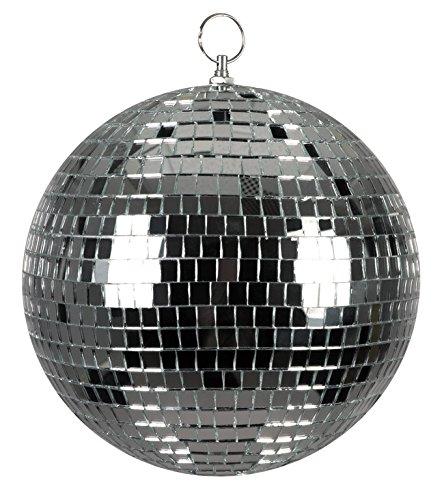 Boland 00703 - Sfera Specchiata Disco Ball 20 cm, Argento