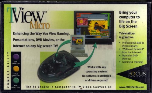 TView Micro PC-to-TV Scan ConverterB00006B6T2