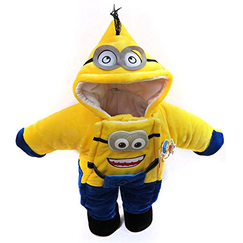 XWHT Baby's Minion Infant Costume Holiday Outfits