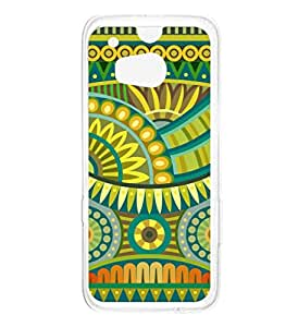 a AND b Designer Printed Mobile Back Cover / Back Case For HTC One M8 (HTC_M8_173)