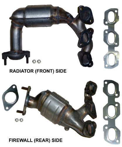 ford-escape-30-v6-2001-2006-catalytic-converter-manifold-set-side-radiator-front-bank-2-lhs-and-side
