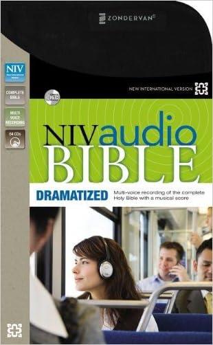 NIV, Audio Bible, Dramatized, Audio CD written by Zondervan