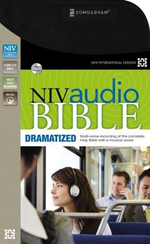 NIV Audio Bible, Dramatized: Zondervan: 9780310436461: Amazon.com: Books
