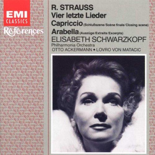 Elisabeth Schwarzkopf Strauss Four Last Songs Capriccio Arabella
