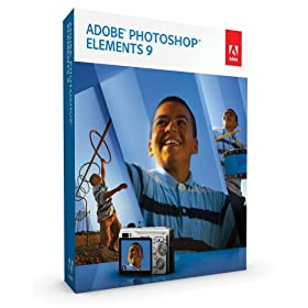 Adobe Photoshop Elements 9 (Win/Mac) [OLD VERSION] (Software) By Adobe          Buy new: $99.99 2 used and new from $89.95     Customer Rating: