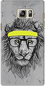 DailyObjects Hipster Lion Case For Samsung Galaxy Note 5