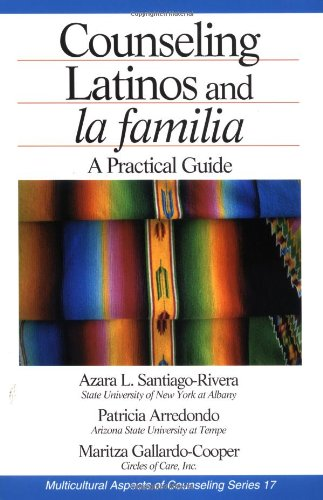 Counseling Latinos And La Familia: A Practical Guide (Multicultural Aspects Of Counseling And Psychotherapy) front-224834