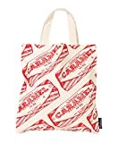 Tunnock's Caramel Wafer Biscuit Premium Cotton Tote Bag by Gillian Kyle