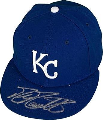 Mike Moustakas Kansas City Royals Autographed New Era Cap - Fanatics Authentic Certified - Autographed Hats