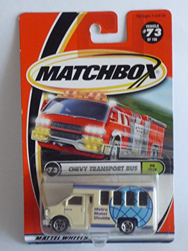 MATCHBOX - 2000 On Tour #73 - Chevy Transport Bus