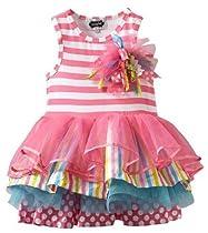 Mud Pie Girls Tiered Birthday Party Tutu Dress (4T)