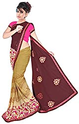 Jay Ambe Creation Women's Georgette Saree (ra1008)