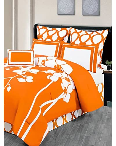 Duck River Textiles April 7-Piece Reversible Comforter Set