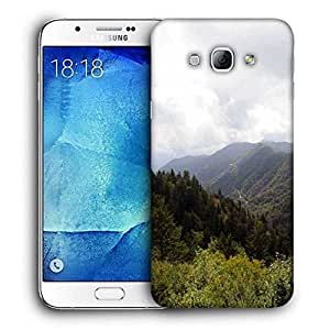 Snoogg Tall Trees Printed Protective Phone Back Case Cover For Samsung Galaxy Note 5