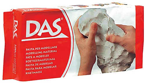 DAS Air Hardening Modeling Clay, 1.1 Pound Block, White (387000) (White Air Dry Clay compare prices)