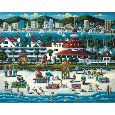 Cheap MasterPieces San Diego, California 1000 Piece Jigsaw Puzzle (B001JCQ1IS)