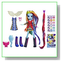 My Little Pony Equestria Girls - Rainbow Dash Deluxe Doll with Accessories
