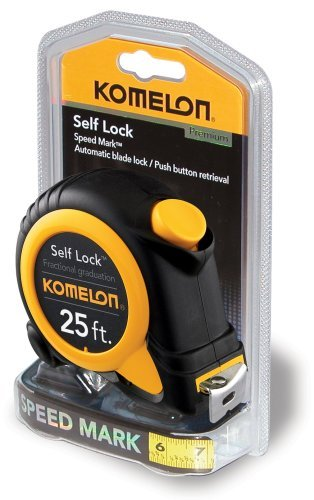 Image of Komelon SL2925 Self Lock Speed Mark 25-Foot Power Tape