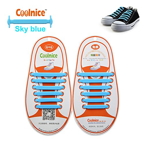 no-tie-elastic-shoelaces-1-pack-by-coolnice-r-for-kids-style-flat-shape-with-sky-blue-colour-for-run