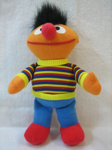 "Tyco Ernie with Red Shoes 1995 8"" Plush - 1"