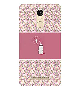 PrintDhaba Funny Image D-4156 Back Case Cover for XIAOMI REDMI NOTE 3 (Multi-Coloured)