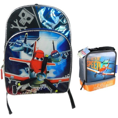 Planes 16 Backpack w/ Lunch Bag