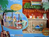 Barbie My Scene Guava Gulch Tiki Lounge Playset (2003)