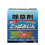 除草剤:こっぱみじん3キログラム入り[雑草を根まで枯らす粒状除草剤][レインボー薬品]