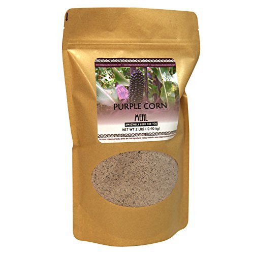 Non-GMO Purple Corn Meal - 2 Lb Bag (Bulk Corn Meal compare prices)