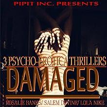 Damaged: 3 Psycho-Erotica Thrillers (       UNABRIDGED) by Salem Devine, Lola Nike, Rosalie Banks Narrated by Robbie Ravena