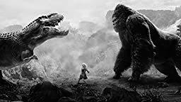 POP Home Store King Kong Vs Tyrannosaurus Rex Poster 12X18 Inch