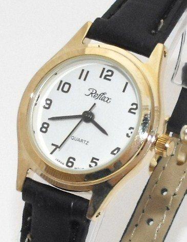 Reflex Ladies/Womens Fashion Watch-New-Gold/White-18cm Strap (1025LT)