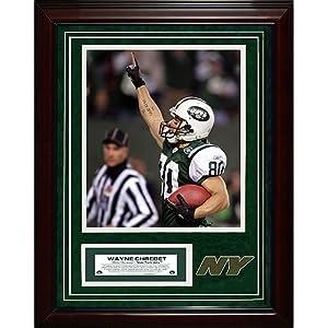 Steiner Sports NFL New York Jets Wayne Chrebet 11x14 igned Turf Collage with 8 x... by Steiner Sports