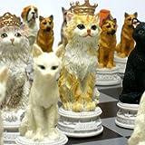 【犬猫総勢32匹が揃い踏み】犬猫のチェスセット
