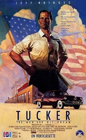 Tucker: el hombre y su Dream Póster de película 11 x 17 en - 28 cm x 44 cm Jeff Bridges Martin Landau Dean Stockwell Frederic Forrest Mako Joan Allen