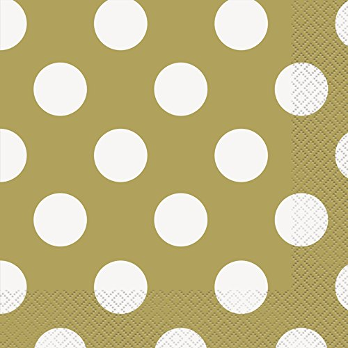 Polka Dot Party Napkins, 6.5