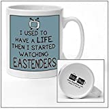I used to have a life EASTENDERS cartoon tv Mug new quick and easy personalised office vintage style Ceramic Tea and Coffee Mug