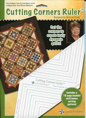 Cozy Quilt Designs Cutting Corners Ruler