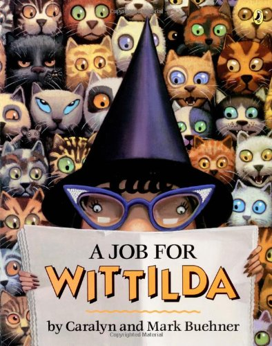 Cover of A Job for Wittilda (Picture Puffin Books)