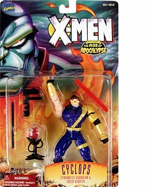 X- MEN AFTER XAVIER THE AGE OF APOCALYPSE- CYCLOPS - 1