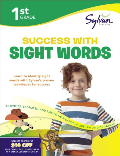 First Grade Success with Sight Words (Sylvan Workbooks) (Language Arts Workbooks)