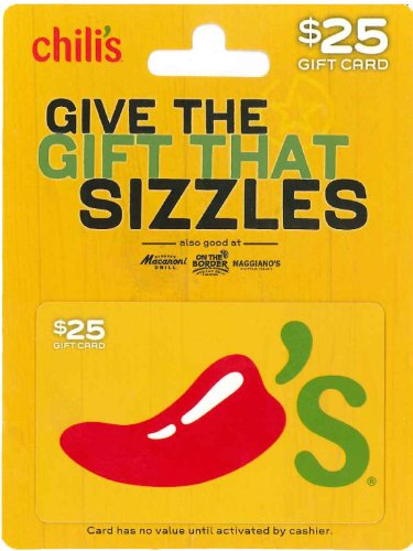 Chili's Gift Card $25 image