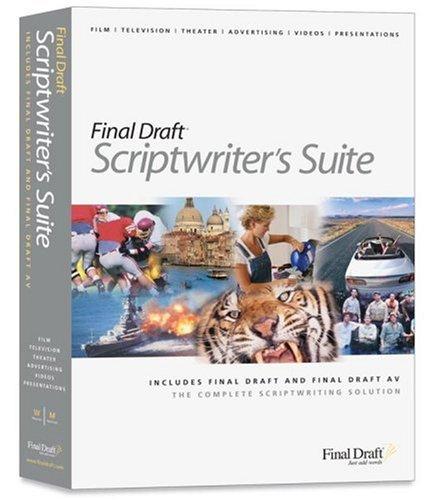 Final Draft Scriptwriter's Suite (Win/Mac)