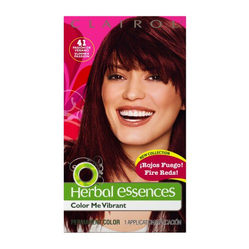 Clairol Herbal Essence Color, 041 Summer Passion-rich Auburn Brown (Pack of 3)